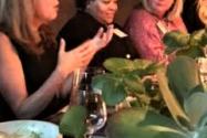 Award-winning playwright Janece Shaffer, Sloane Evans, Georgia Power SVP of HR, Tami Barron, CEO of SouthernLINC Wireless.